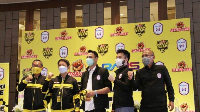 Sesaat Lagi Kick Off Extrajoss The Dream Team vs Rans Cilegon FC, Tayang di Kompas TV