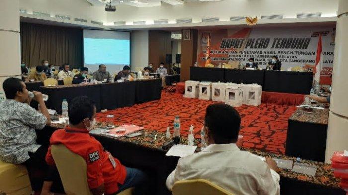 Mata Merah, Alotnya Rapat Pleno Pilkada Tangsel Berujung Penolakan Saksi dan Rencana Gugatan ke MK