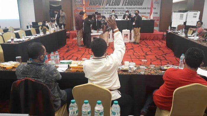 Saksi Muhamad-Saraswati Interupsi Berkali-kali, Rapat Pleno Pilkada Tangsel Berlangsung Alot