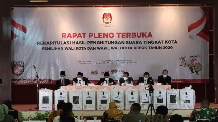 BREAKING NEWS Rapat Pleno KPU: Idris-Imam Ditetapkan Sebagai Pemenang Pilkada Depok 2020