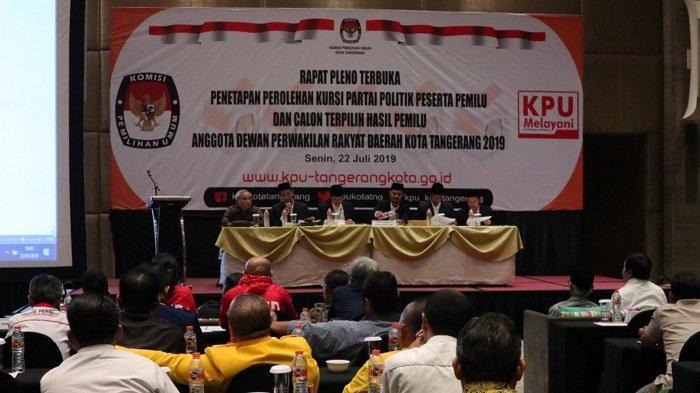 KPU Kota Tangerang Tetapkan 50 DPRD Kota Tangerang, Berikut Daftar Namanya