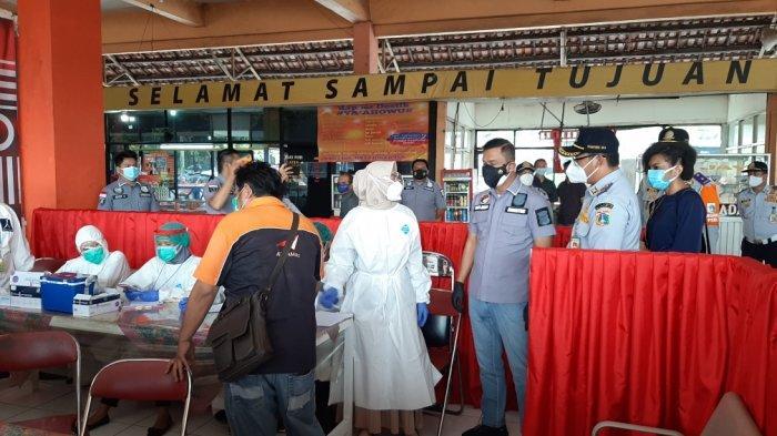 5 Orang Ditemukan Reaktif Covid-19 saat Jalani Rapid Test Antigen di Terminal Kampung Rambutan