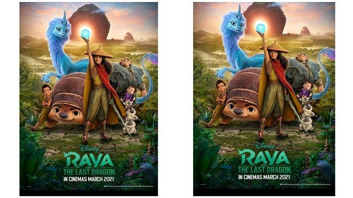 Sederet Fakta Film Disney Raya and The Last Dragon yang Melibatkan Seniman Indonesia