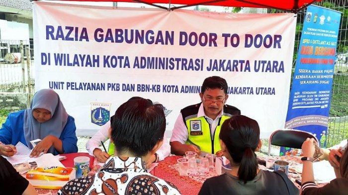 Petugas Sering Dapati Pengendara Mobil Mewah Tak Taat Pajak di Kelapa Gading