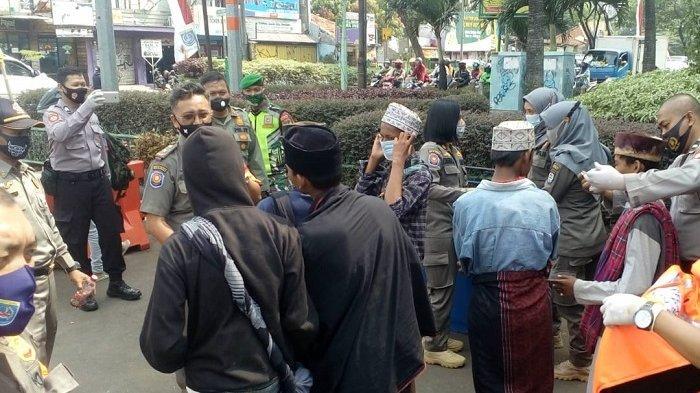 Depok Zona Merah Covid-19, Petugas Gencar Gelar Razia Masker