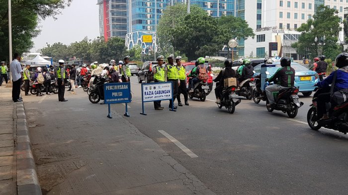 Razia Gabungan Operasi Patuh Jaya Mulai Senin 20 September, Lengkapi Surat Kalau Tak Mau Ditilang