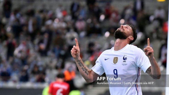 EURO 2020 - Paradoks Olivier Giroud, Gahar Bersama Timnas Prancis Tapi Berbeda Saat di Chelsea