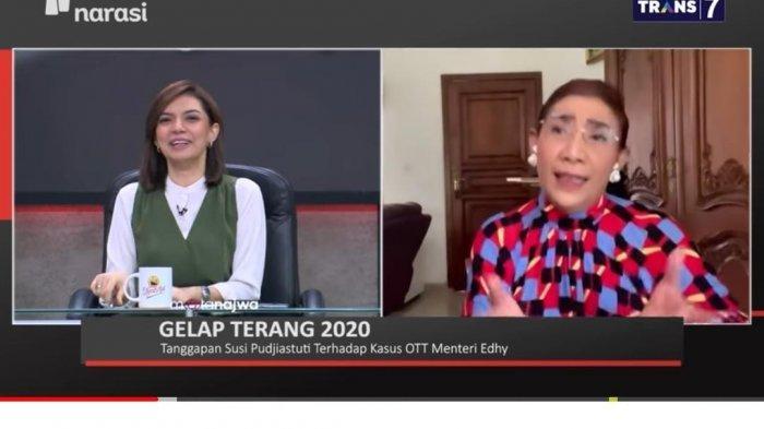 Disebut Lebih Cocok Gantikan Menteri KKP, Reaksi Susi Pudjiastuti Buat Najwa Shihab Tertawa