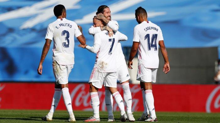 Hasil Liga Spanyol: Real Madrid Lewati Pekan 14 dengan Sempurna Usai Menang 3-1 di Markas Eibar