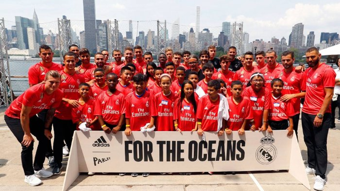Demi Menjaga Laut, Real Madrid Rilis Jersey Ketiga yang Terbuat dari Sampah