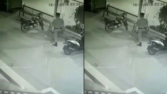 Penjelasan Polisi Soal Viral Maling Sepeda Motor yang Diduga Anggota Satpol PP