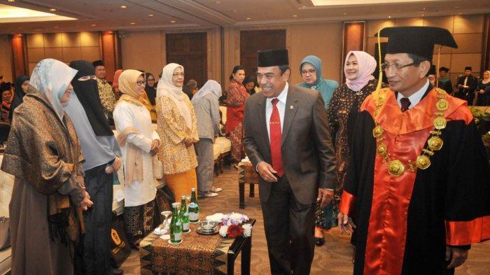 Menteri Agama Hadiri Wisuda PTIQ, Ini Pesan Rektor Nasaruddin Umar kepadaWisudawan