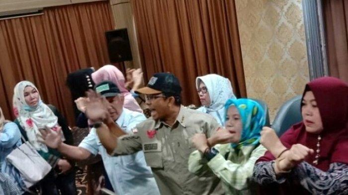 Beda Pendapat Saat Bacakan Pernyataan, Deklarasi Relawan Prabowo-Sandi di Jaksel Berujung Ricuh