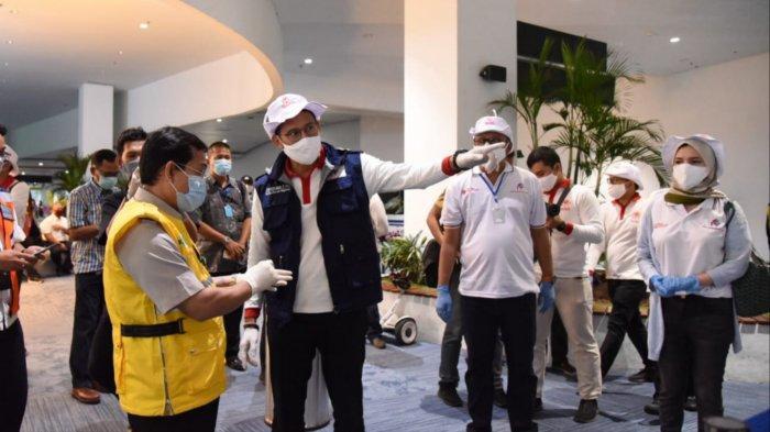 Dikomandoi Sandiaga Uno, Puluhan Imigran Indonesia Ikut Rapid Test Massal di Bandara Soekarno-Hatta