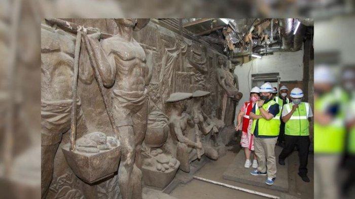 Ada Relief Bersejarah di Gedung Sarinah, Tim Ahli Cagar Budaya Ungkap Beberapa Kerusakan
