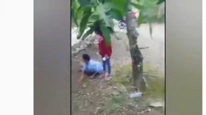 Viral Remaja Putri Dorong & Maki Sang Ibu Karena Dilarang Main, Korban Meringis Kesakitan: Ya Allah