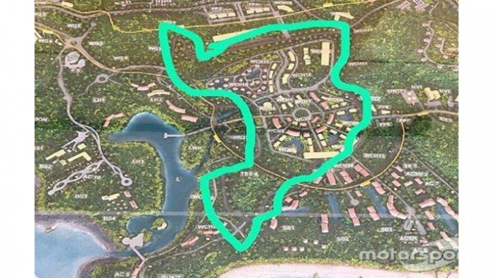 Rencana pembuatan sirkuit jalanan MotoGP di Mandalika, Lombok, Nusa Tenggara Barat