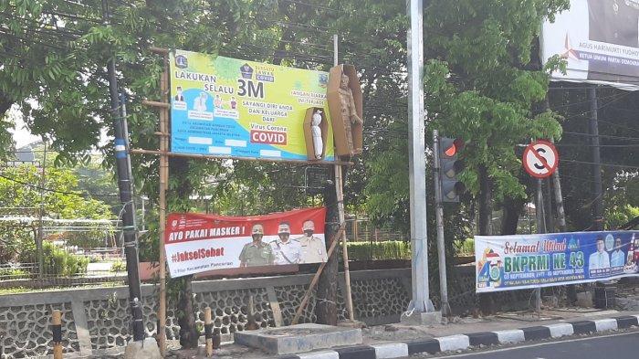 Mumi dan Pocong Gentayangan di Kalibata Jakarta Selatan, Ingatkan Warga Bahaya Covid-19