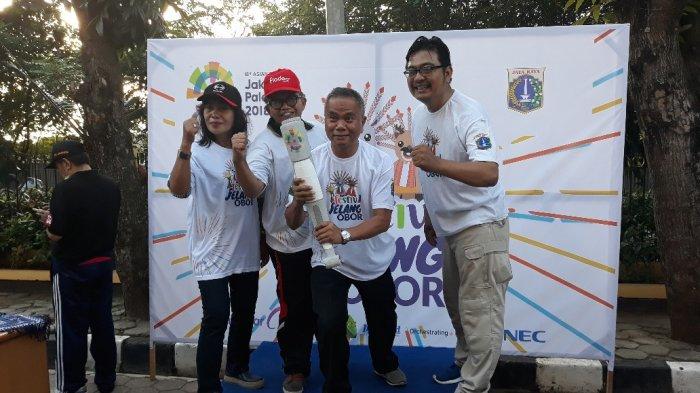 Wali Kota Jakarta Selatan Bakal Sambut Festifal Jelang Obor Asian Games2018di Kecamatan Jagakarsa
