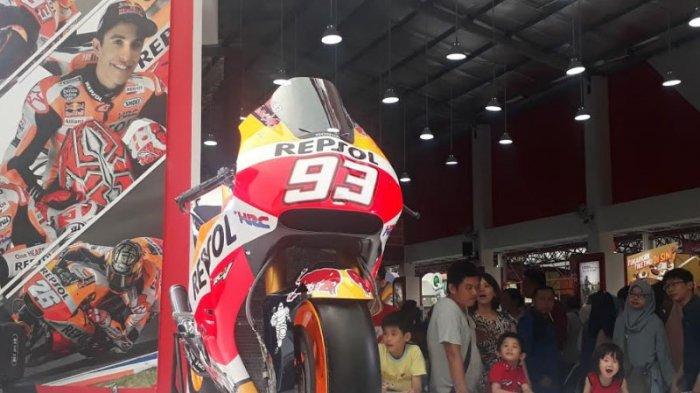 Replika Motor Milik Marc Marquez Jadi Daya Tarik Pengunjung Jakarta Fair