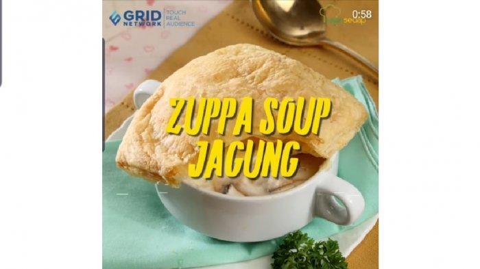 Bikin Ngiler! Resep Zuppa Soup Jagung ala Rumahan, Cocok Dimakan Selagi Hangat