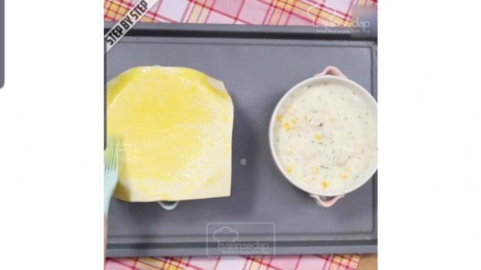 Resep membuat zuppa soup jagung rumahan ala Sajian Sedap
