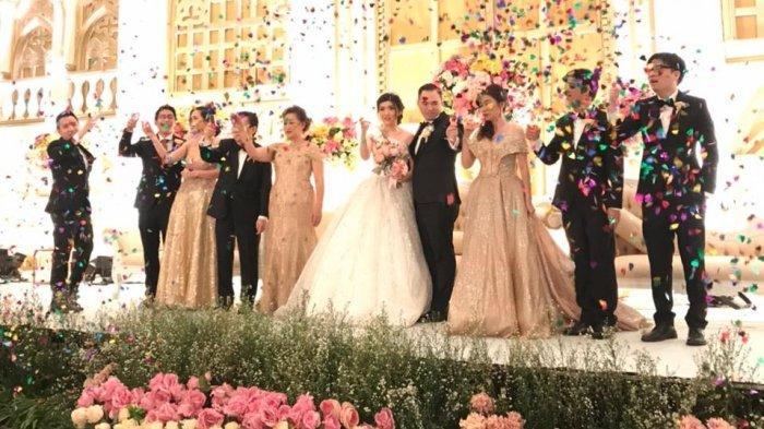 Resepsi pernikahan oleh JS Organizer and Entertainment.