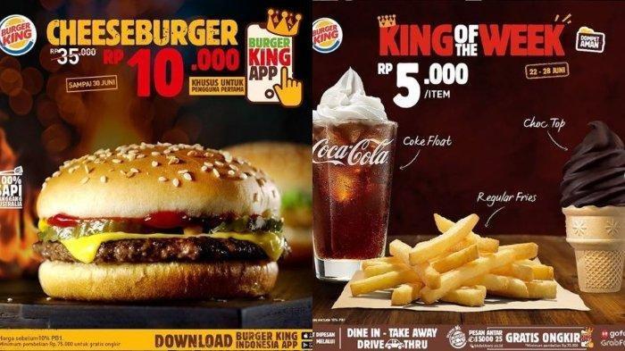 Berlaku sampai 30 Juni 2020, Berikut Promo Burger King: Cheeseburger Hanya Rp 10 Ribuan!