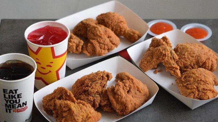 Promo Bulan November, Rp 11.110 Bisa Dapat Sepaket Ayam Goreng di Carl's Jr Indonesia