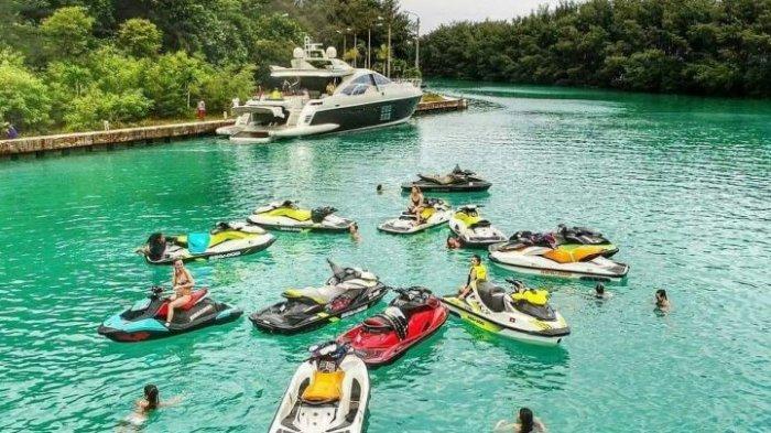 Melihat Belasan Bidadari dari Berbagai Penjuru Dunia Jajal Jetski di Kepulauan Seribu