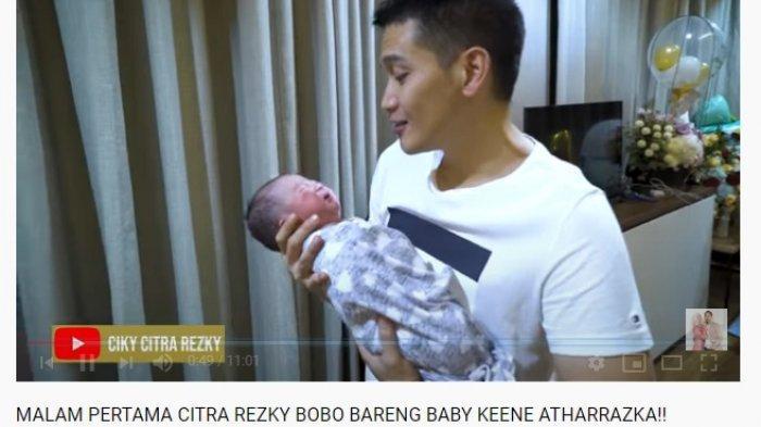 Bantu Citra Kirana, Rezky Aditya Ungkap Pengalaman Pertama Gendong Sang Putra saat Nangis: Bahagia