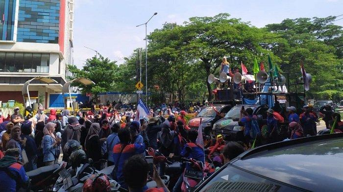 Besok, Jutaan Buruh Siap Gelar Aksi Mogok Nasional