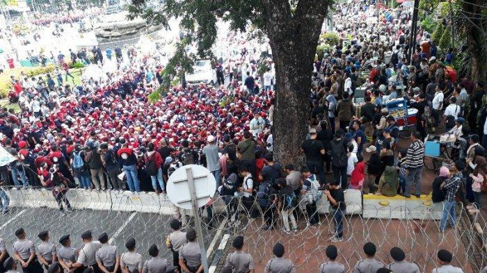May Day Berlangsung Besok, Puluhan Ribu Buruh dan Mahasiswa Bakal Turun ke Jalan Ibu Kota