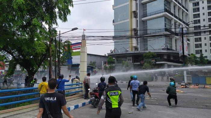 80 Peserta Demo Tolak UU Ciptaker di TangerangDiamankan Polisi, Paling Banyak Pengangguran
