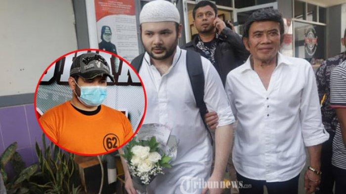 Ridho Rhoma Ditangkap Lagi, Raja Dangdut Rhoma Irama Bersyukur ke Polisi Sampai Ucapkan Ini ke Anak