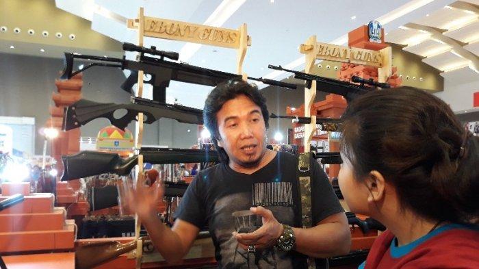 Mengintip Aneka Koleksi Senapan Angin Custom di Jakarta Fair Kemayoran