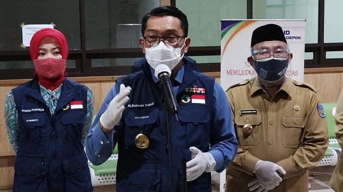Ridwan Kamil Apresiasi Persentase Pasien Sembuh dari Covid-19 di Depok Lebih Tinggi Dari Provinsi