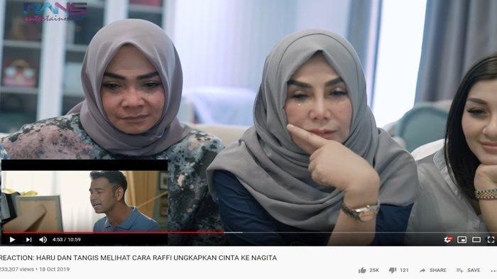 Dengar Lagu Raffi Ahmad untuk Nagita, Rieta Amalia & Mama Amy Nangis: Ini Caranya Minta Maaf ke Gigi