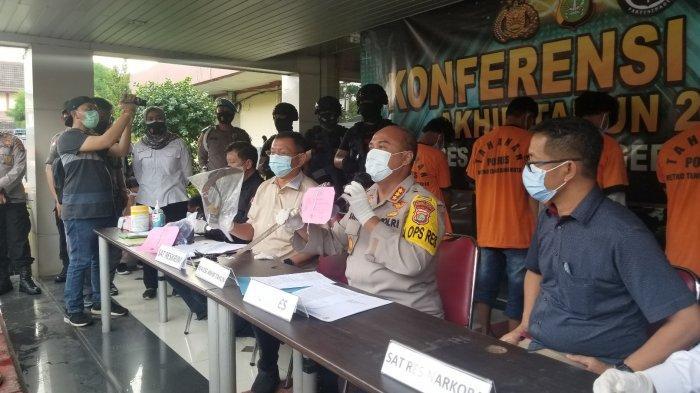 Peredaran Narkoba saat Pandemi Covid-19 Tahun 2020 di Kota Tangerang Merosot Drastis