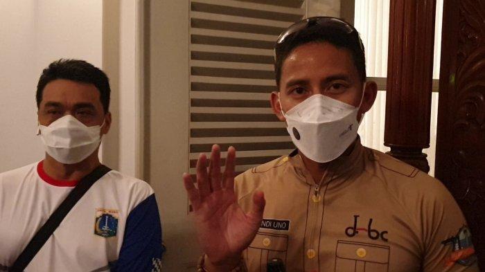 Sambangi Balai Kota, Menpar Sandiaga Uno Ngaku Prihatin dengan Pariwisata DKI Jakarta