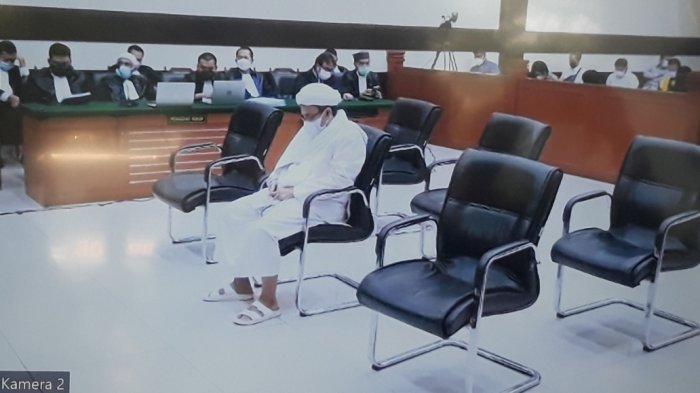 Tak Terima Putusan Majelis Hakim, Rizieq Shihab Ajukan Banding di Kasus Petamburan dan Megamendung