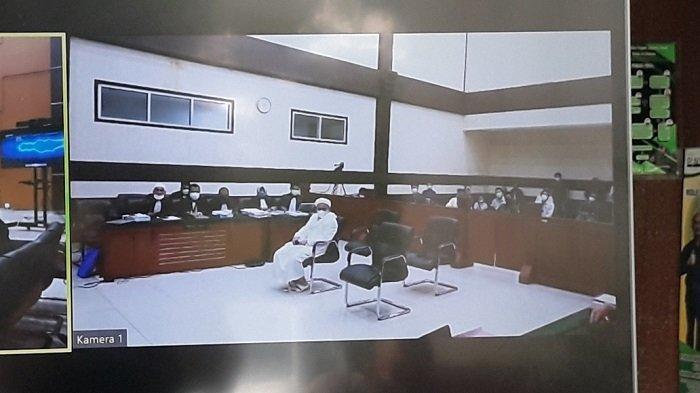 Rizieq Shihab kembali Jalani Sidang Pemeriksaan Saksi Kasus Tes Swab RS UMMI Bogor