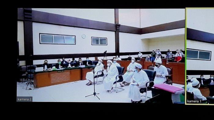 Jaksa Belum Tentukan Saksi untuk Sidang Lanjutan Tes Swab, Rizieq Shihab Sempat Sindir Bima Arya