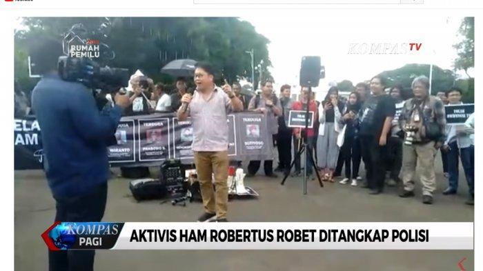 Selisik Profil dan Latar Robertus Robet, Dosen yang Ditangkap Karena Nyanyiannya di Aksi Kamisan