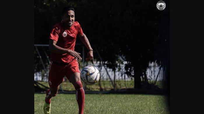 Rohit Chand langsung ikut latihan Persija Jakarta di Lapangan PSAU, Jakarta Timur, Sabtu (23/2/2019).