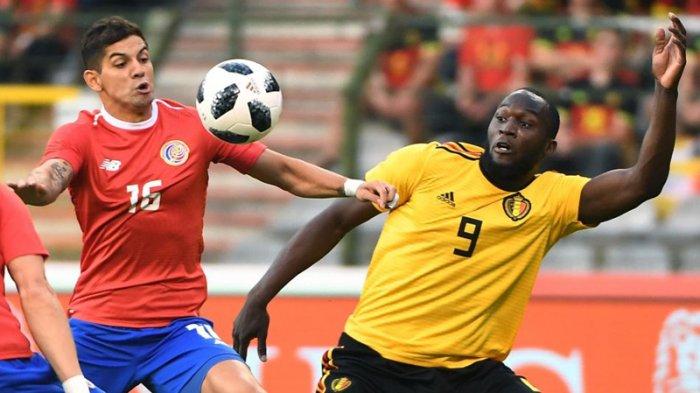 Belgia 4-1 Kosta Rika,Berkah Sepatu Baru Romelu Lukaku