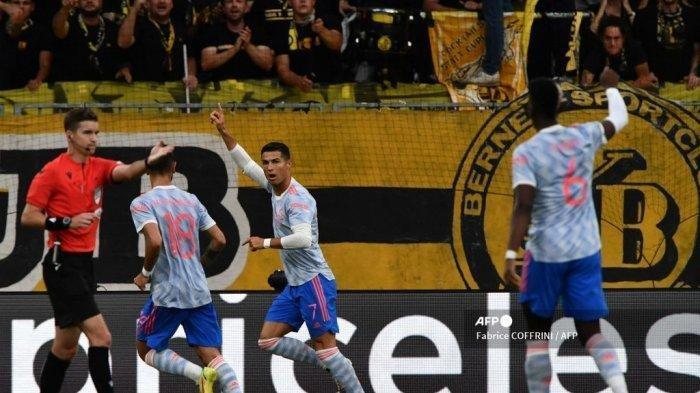 Hasil Liga Champions Semalam: Wan-Bissaka Dapat Kartu Merah, Young Boys Permalukan Man United 2-1