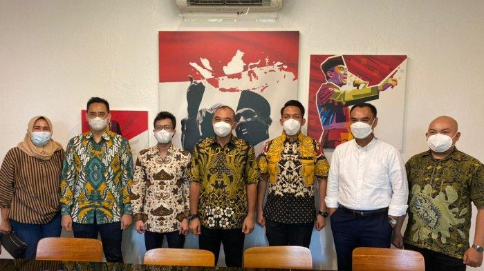 Ronny Bara Pratama Minta Restu ke Ahmed Zaky Iskandar Terkait Pencalonan Ketua KNPI DKI Jakarta