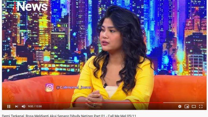 Demi Terkenal, Rosa Meldianti Mengaku Senang Dibully Warganet: Apalah Aku Tanpa Netizen