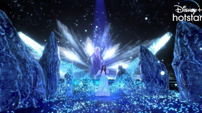 Serunya Malam Peluncuran Disney+ Hotstar, Rossa Bawakan Lagu Film Frozen